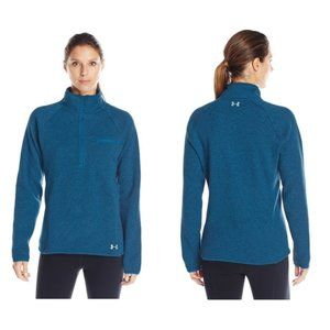 NWT Under Armour Wintersweet Peacock Falls Zip S